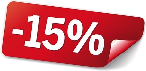 15% rabatt på lotto