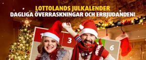 Julkalender hos lottoland
