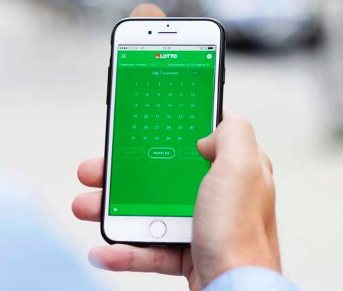 Lotto på mobil
