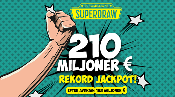 superjackpot euromillion
